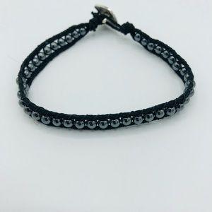 Men's Hematite Wrap Bracelet